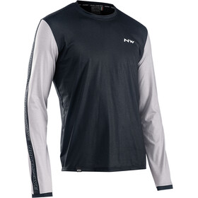 Northwave Xtrail Long Sleeve Jersey Men, black/off white
